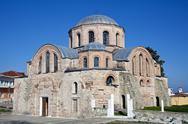 Stock Photo of byzantine church of kosmosotira, feres, greece