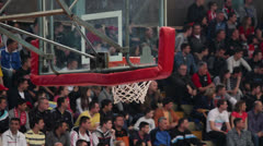 Basket Hoop Stock Footage