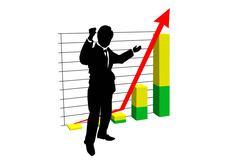 business goals - stock illustration