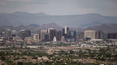 Stock Video Footage of Phoenix Downtown