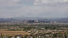 Stock Video Footage of Phoenix Downtown Zoom In
