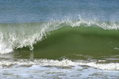 Wave on Atlantic coast Stock Photos