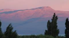 Argentina, Calafate, Mountains Stock Footage