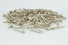 sheet metal screw - stock photo