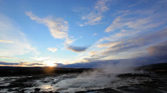 Geyser Strokkur, Iceland Stock Footage