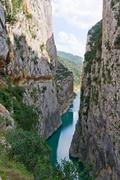 mont-rebei gorge in catalonia, spain - stock photo