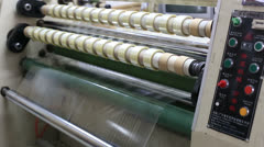 duct tape production plant 4 - stock footage