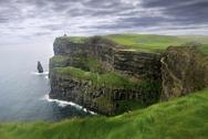 Lush grass in Ireland Stock Photos