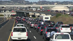 Traffic congestion Stock Footage