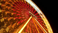 Stock Video Footage of Ferris Wheel Timelapse