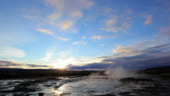 Stock Video Footage of Geyser Strokkur, Iceland