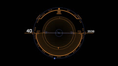 Stock Video Footage of Air Hud 2 of 17