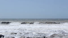 Heavy Seas and Rolling Waves Stock Footage