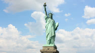 Stock Video Footage of Statue liberty