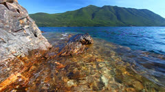 Rocky Point Glacier National Park Stock Footage