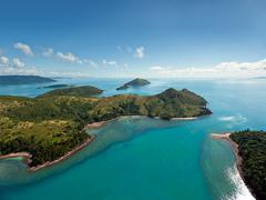 Australia's whitsunday islands Stock Photos