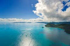 australia's whitsunday islands - stock photo