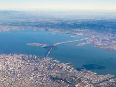 Ilmakuvan San Francisco Kuvituskuvat