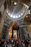 St. peter's basilica Stock Photos