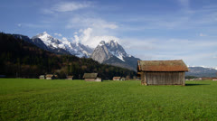 Bavarian Alps Stock Footage
