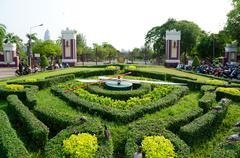 Stock Photo of lumpini park, bangkok