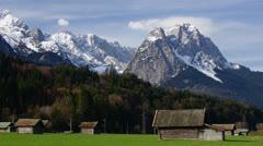 Bavarian Alps Stock Footage