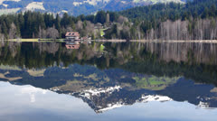 Schwarzsee Stock Footage