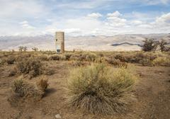 Abandoned high desert ranch Stock Photos