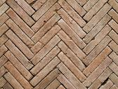 Stock Photo of contemporary herringbone pattern brickwall