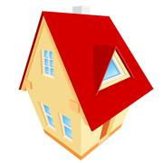 Stock Illustration of vector abstract illustration of house