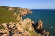 Stock Photo of cabo da roca, the wester point of europe, portugal