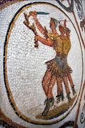 Warrior mosaic Stock Photos