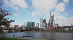 Frankfurt - Financial distric Stock Footage