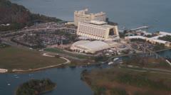 Aerial News Footage of the Walt Disney World Resort in Orlando Florida Stock Footage