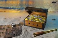 Treasure Island Stock Photos