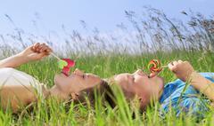 sweet summer - stock photo