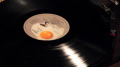 Record Player - stock footage