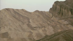 Cliffs at Death Valley, California HD Video Stock Footage