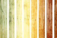 Color old wood on white background, isolated Stock Illustration