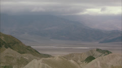 Landscape of Death Valley, California HD Video Stock Footage
