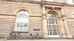 Art Academy in Dusseldorf Germany Stock Footage