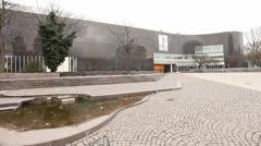 K20 Kunstsammlung North Rhine Westphalia Dusseldorf Germany - stock footage