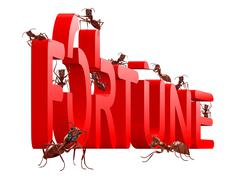Fortune building Stock Illustration