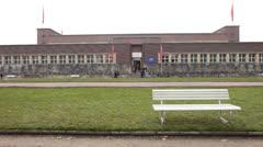 NRW Forum Museum in Dusseldorf Germany Stock Footage