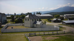 Canada, Fort Steele 2 Stock Footage