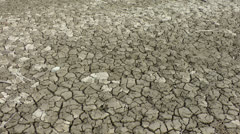 Dried out lake 2/2 Stock Footage
