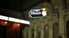 Floridita Bar Havana Cuba Stock Footage