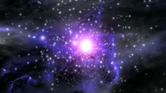 Space supernova nebula Stock Footage