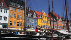 Nyhavn Stock Footage