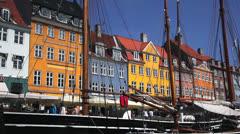 Nyhavn - stock footage